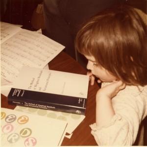 Christine reading