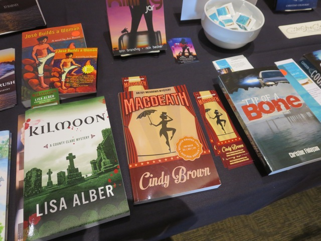 Oregon Writers Colony author books at Stumptown Lit 2014