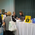 FB Autographing at trade show 1