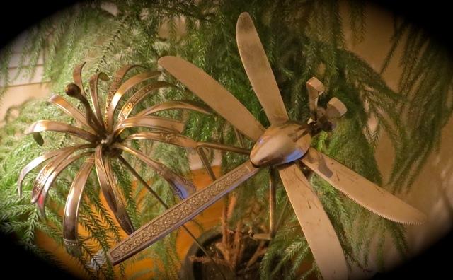 fb utensil fly and flower