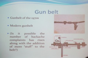WPA gun belt